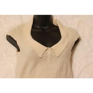 Elie Tahari | cashmere collared sweater blouse